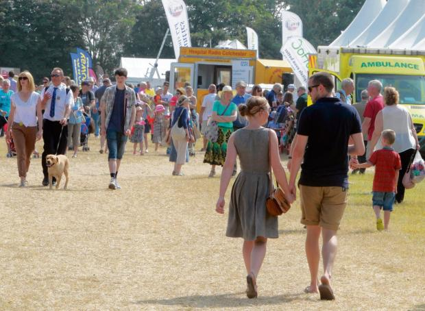 Huge crowds at Lawford for Tendring Show