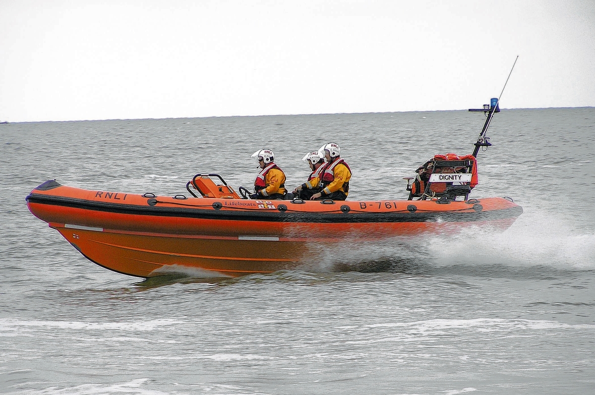 West Mersea lifeboat