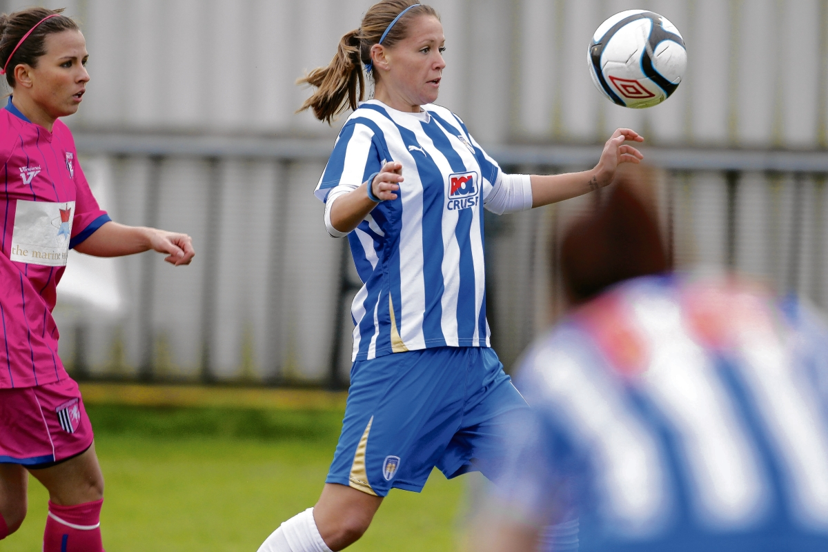Gone but not forgotten - the demise of Colchester United Ladies must not lead to the club's players leaving the area, according to Essex FA chief executive Phil Sammons.