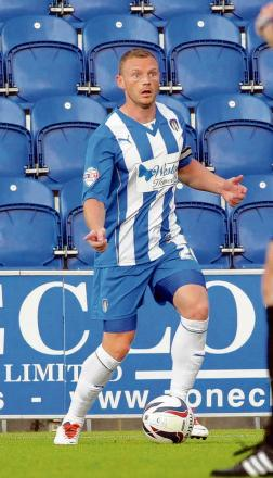 New start - Brian Wilson has signed for Oldham Athletic after rejecting the chance to stay at Colchester United, last month.