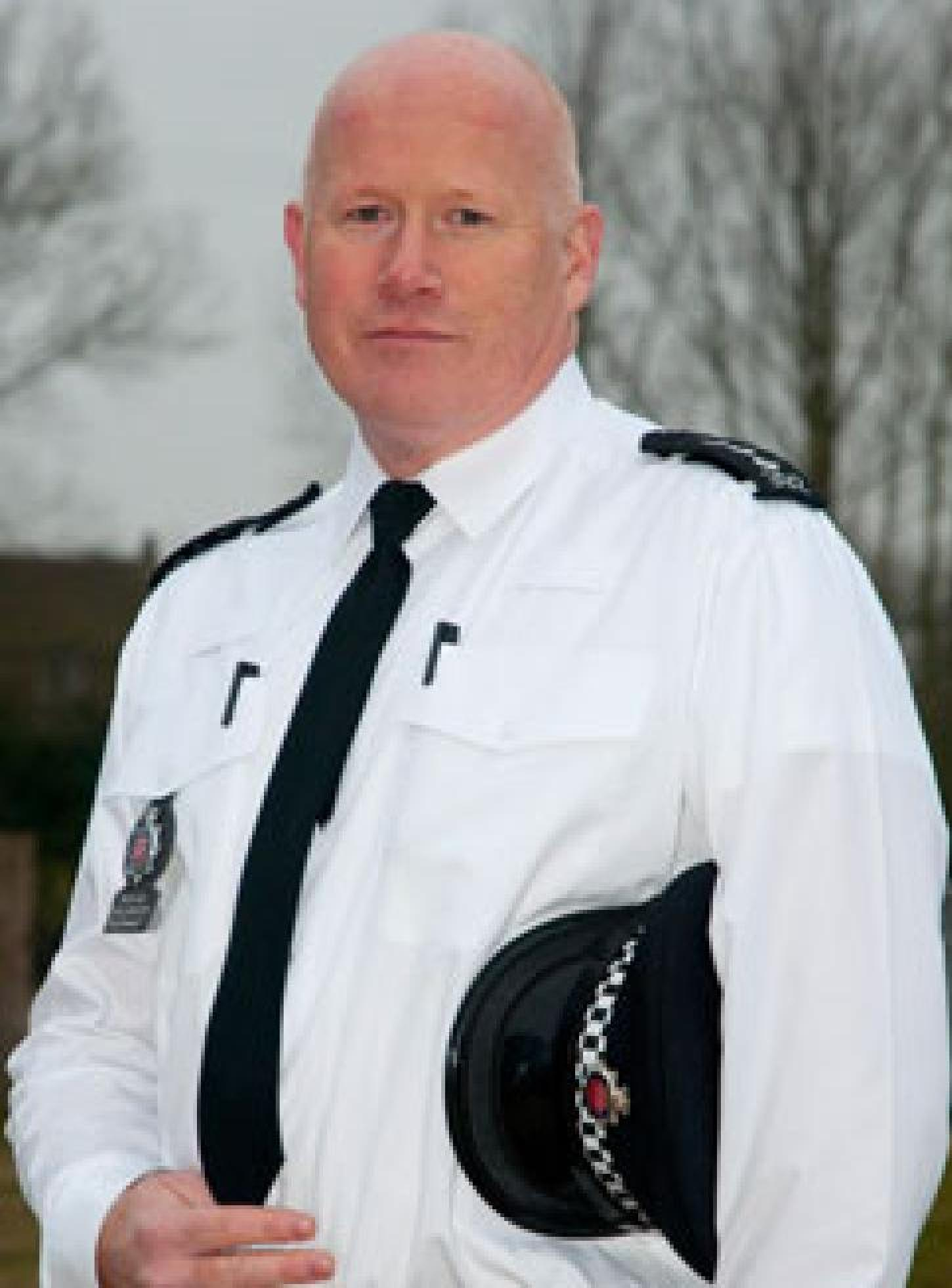 District Commander for Colchester Richard Phillibrown