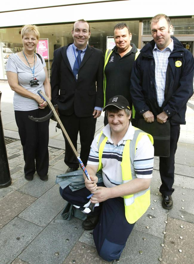 Litter-picking experience for Colchester's long-term unemployed.