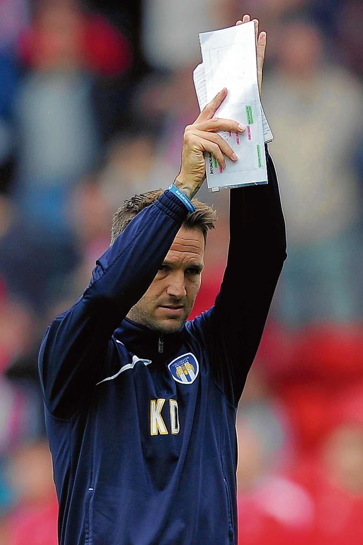 Coaching brief - Karl Duguid is enjoying his role as Colchester United player-coach but would dearly love to play for the U's again one day. Picture: WARREN PAGE