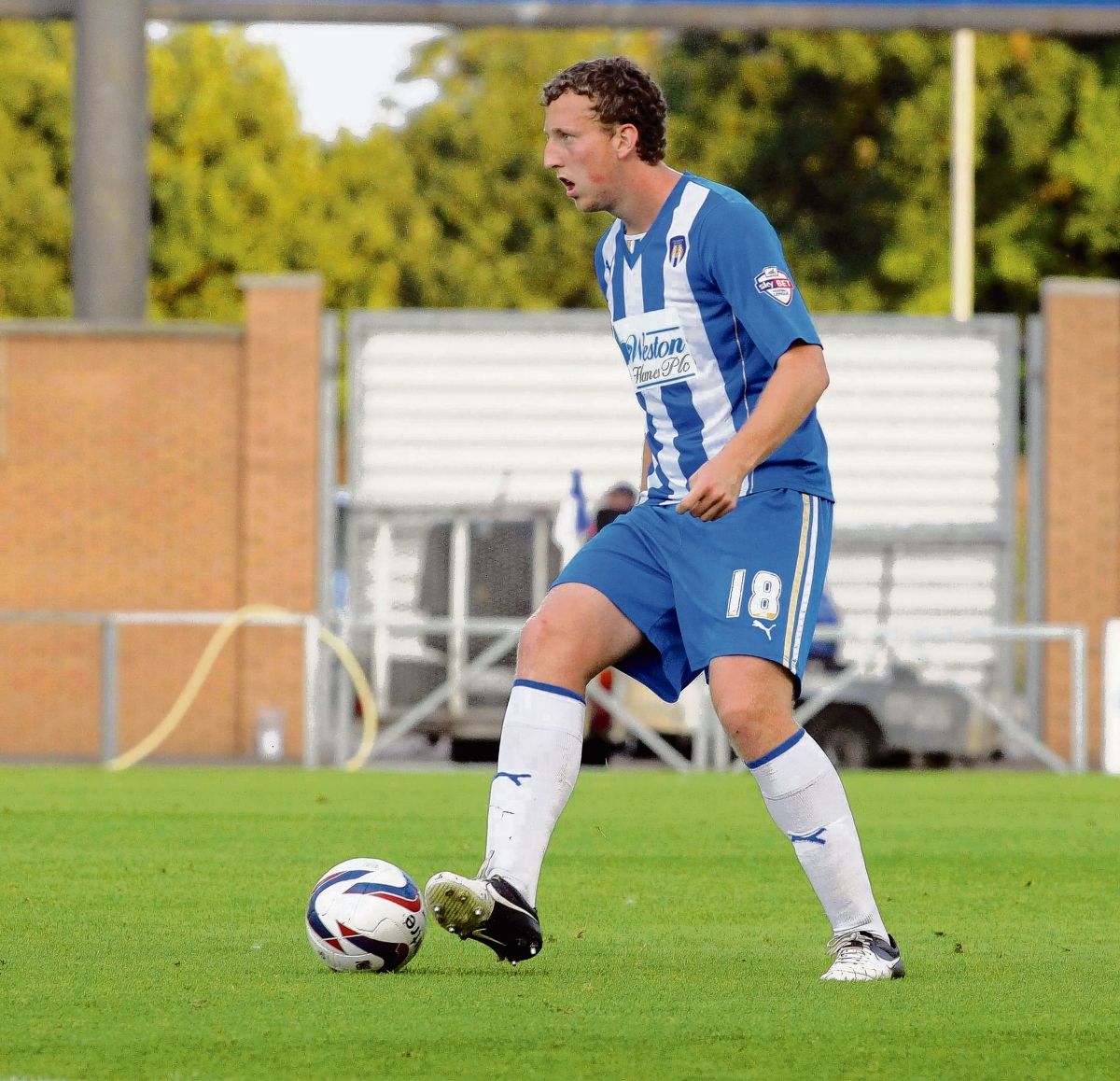 Reward - Tom Eastman won Colchester United's Player of the Year and Players' Player of the Year titles at the club's end of season dinner.