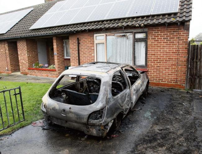 Firefighters save house after car explodes