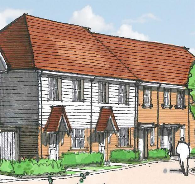 Fewer homes planned for former Betts site