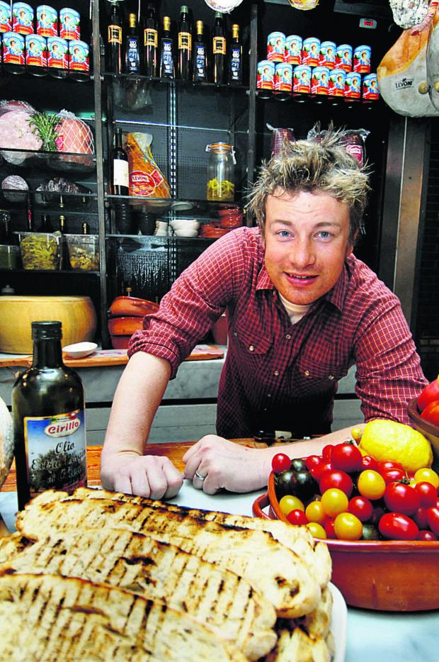 Gazette: Jamie makes our pudding a television star