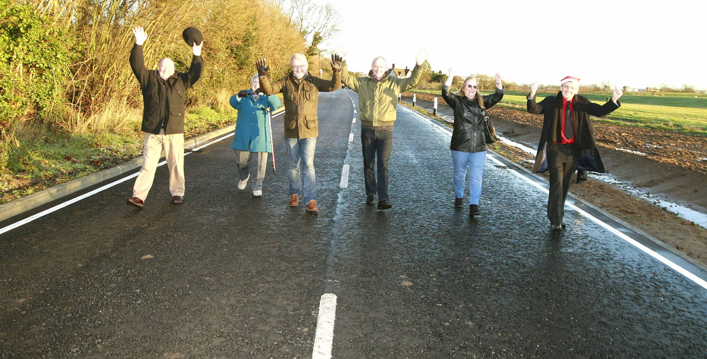 £1.9m scheme to sort nightmare road finished at last