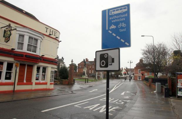 Gazette: The bus lane in Colchester High Street is set to be made clearer.