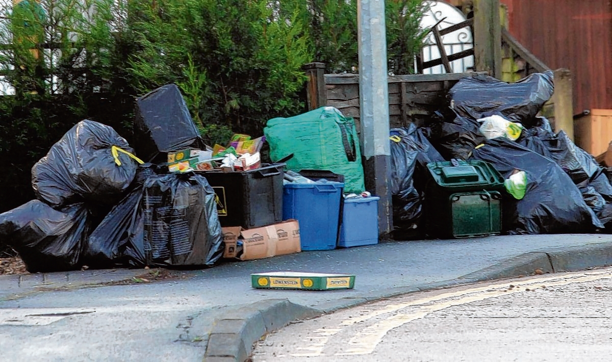 Missed rubbish collections are most common council complaints