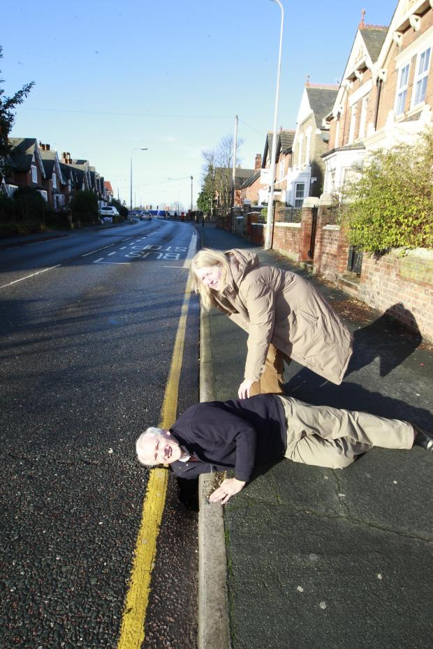 Gazette: The pesky pothole that could have your arm off