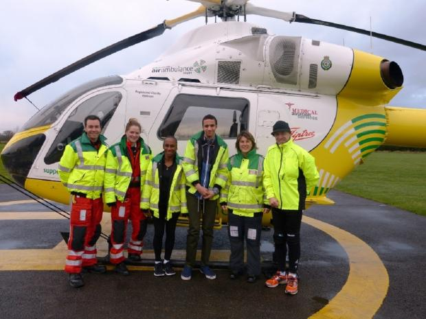 Teen's miraculous recovery thanks to air ambulance