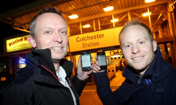 Gazette: Pair's app now focuses on cancelled trains