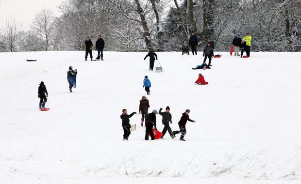 Gazette: Flashback to Hilly Fields, Colchester in January 2013