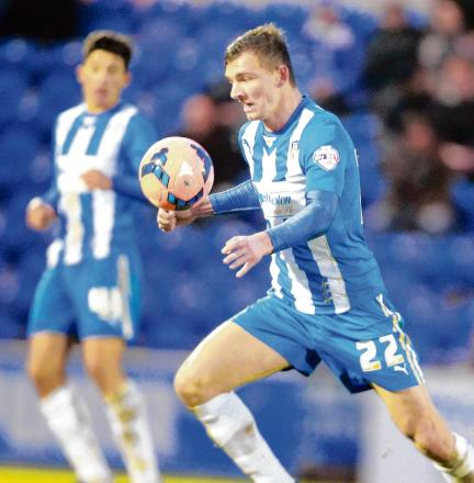 Staying put - Alex Gilbey has extended his stay with Colchester United.