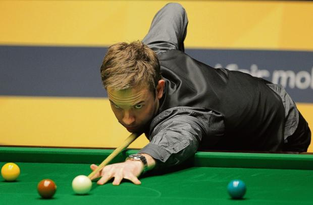 Gazette: Cool head – Ali Carter is vying for the £32,000 prize at the Shoot-Out in Blackpool