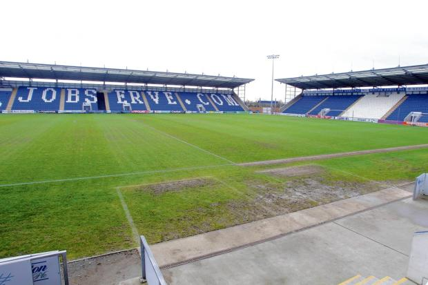 Hoping for good news - Colchester United are keen for their home game against Shrewsbury Town to go ahead tomorrow night.