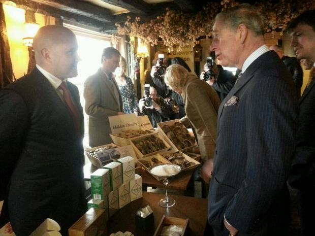 Gazette: Prince Charles speaks to Steven Osbourne