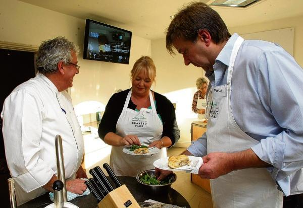 Gazette: The cookery school at Braxted Park