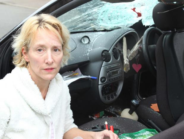 Steering wheel saved me from Clacton gas explosion