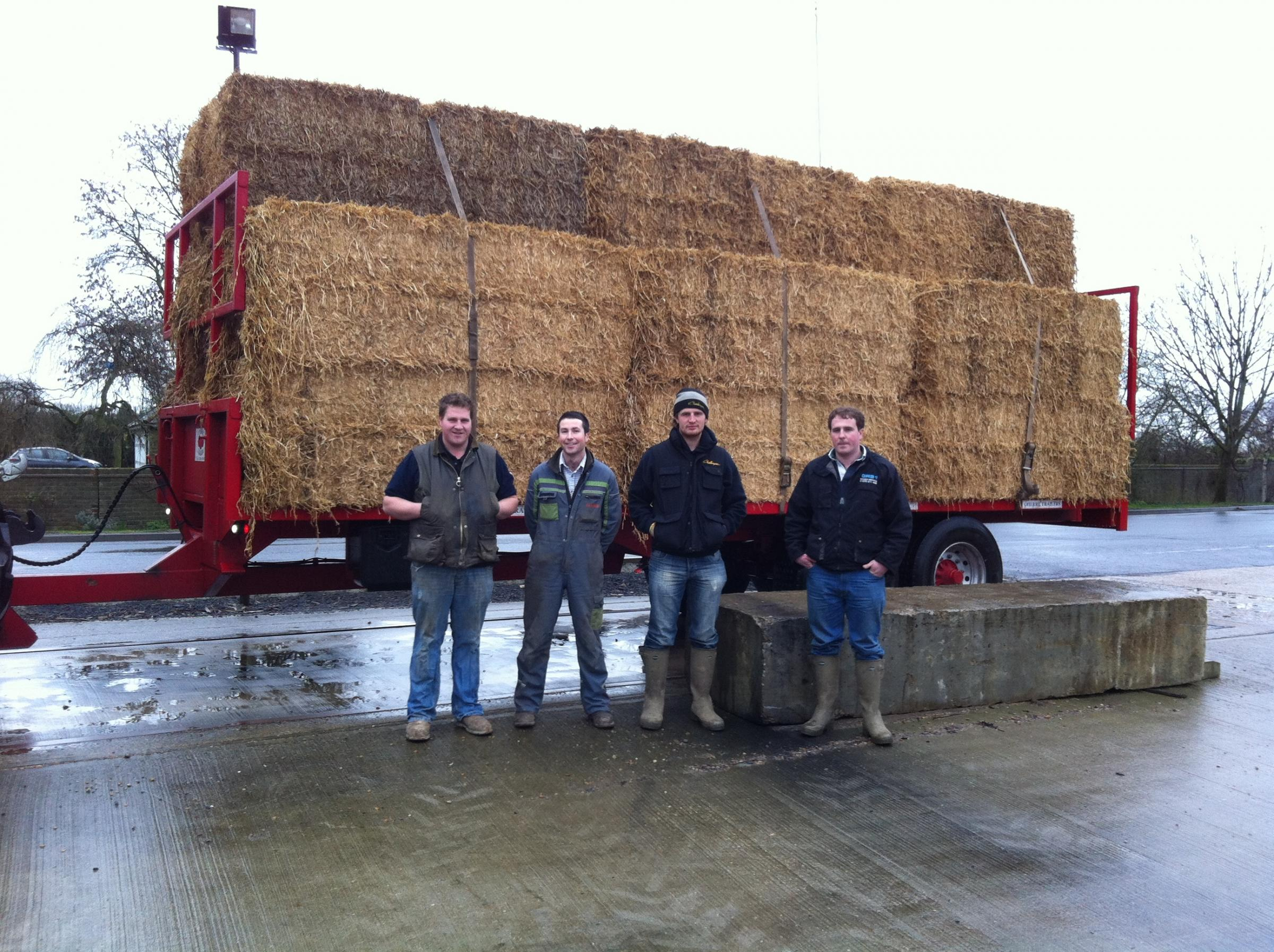 Young farmers rally around to help those affected by Somerset floods