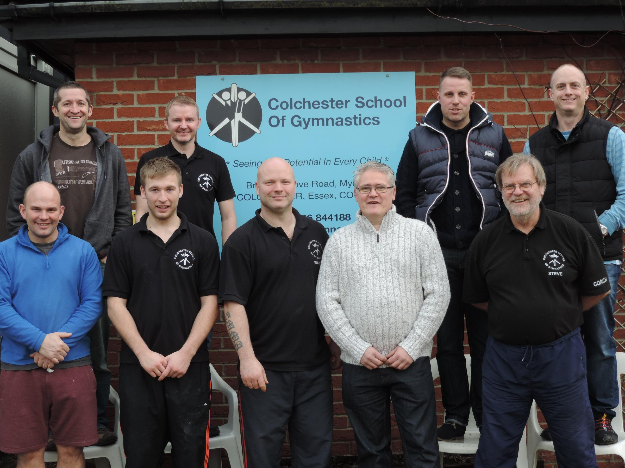 Dads and coaches to brave a wax for gymnastics club fundraiser