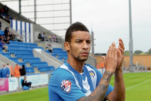 Gazette: Happy - Craig Eastmond is relishing being a regular in Colchester United's starting line-up this season. Picture: STEVE ARGENT (CO83729-02)