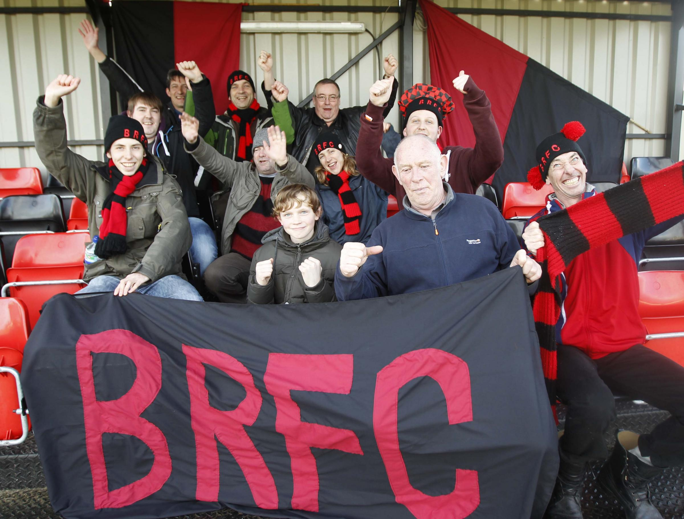 Brightlingsea Regent fans prepare for the biggest match their club has ever faced.