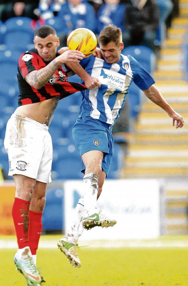 Gazette: Hard to take - Ryan Dickson admitted the manner of Colchester United's defeat against Preston North End was difficult to accept. Picture: SEANA HUGHES (CO90349-99)