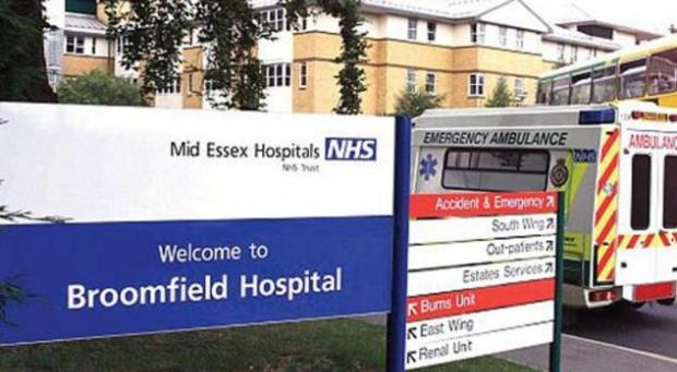 Broomfield Hospital in Chelmsford