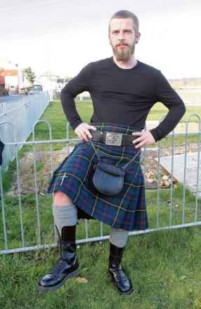Gilles' Highland fling to raise money for charity