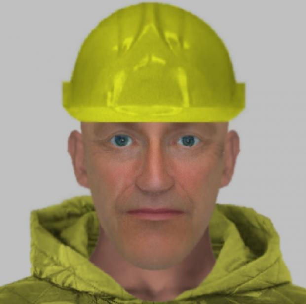 Efit of man suspected of posing as Anglia Water employee to steal jewellery