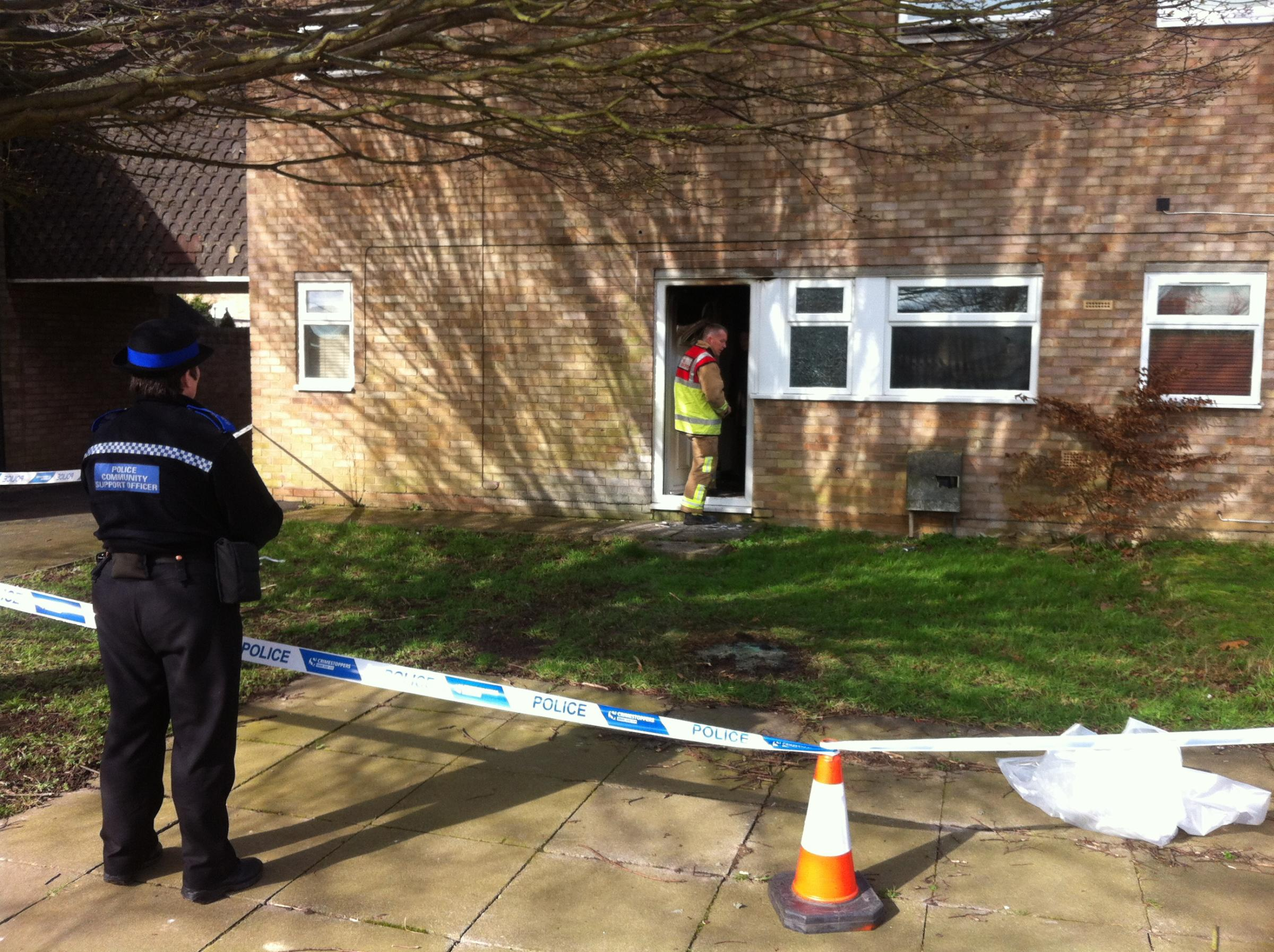 Two teens arrested on suspicion of arson