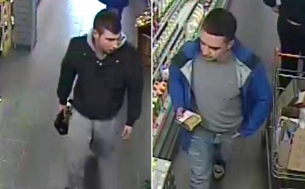 Police want to speak to these two men.