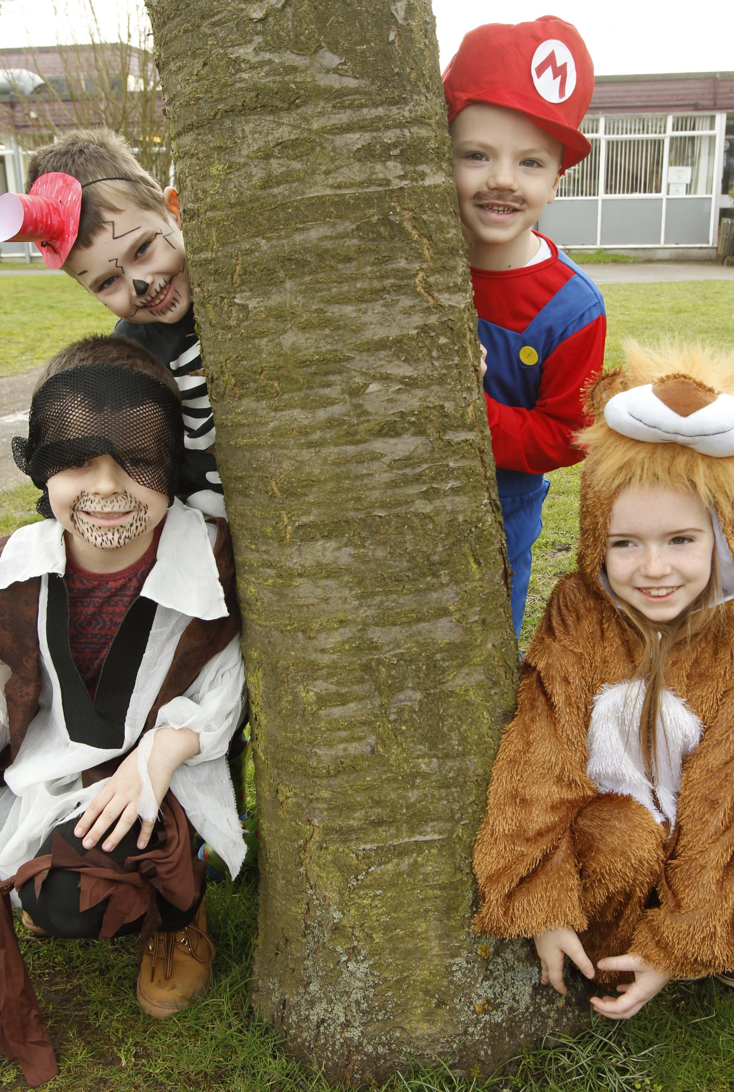 Kian Draper, Thomas Hicks, Lucas Mander, and Daisy Dance from St Andrews Primary School