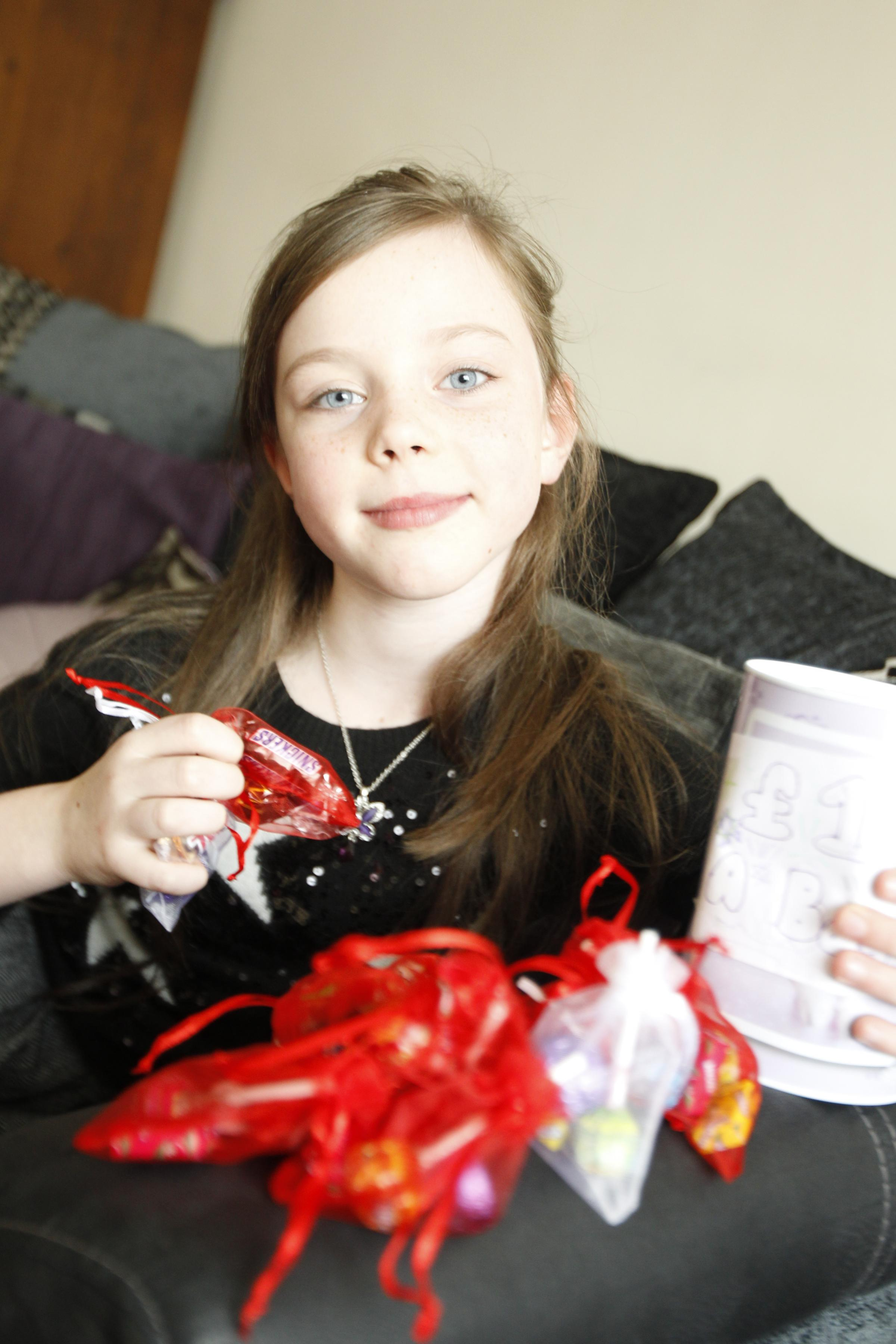 Erin's sweet bid to win pageant's charity title