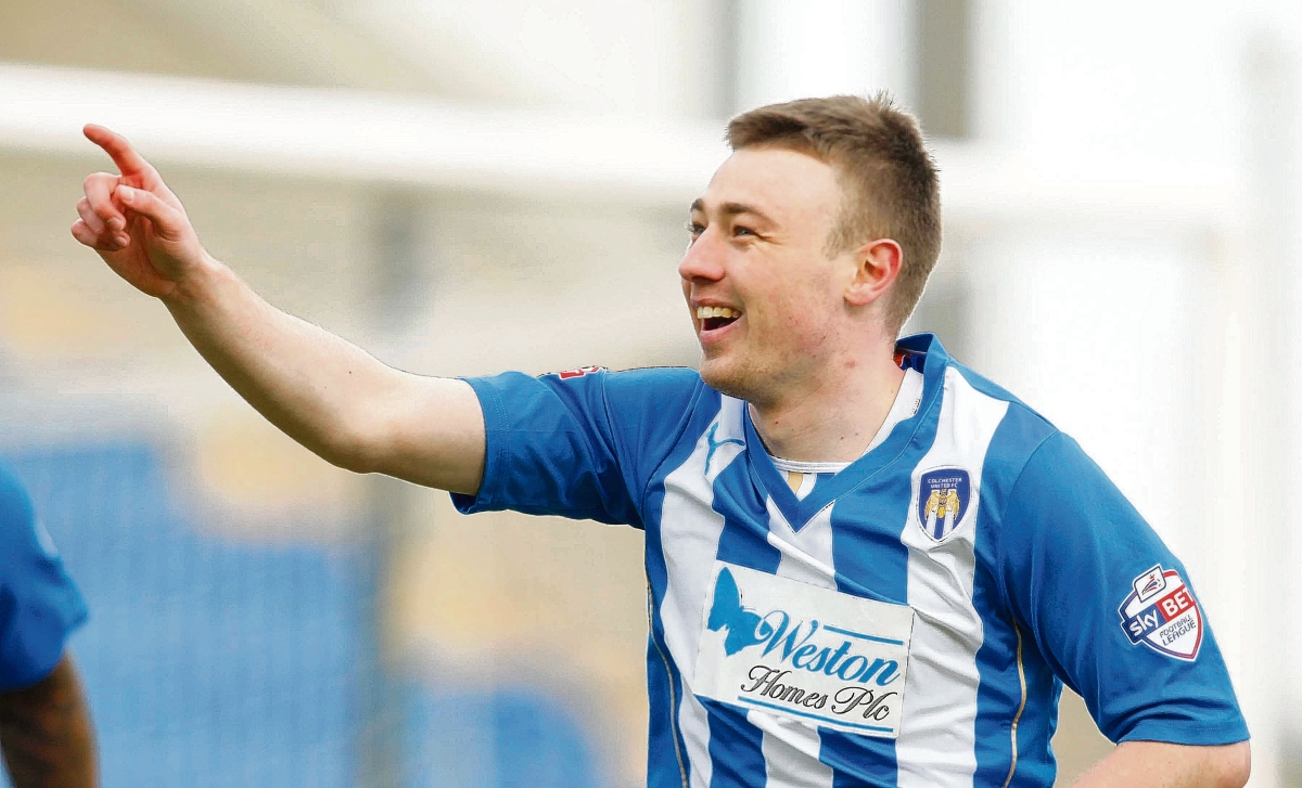 Freddie Sears scored Colchester's goal