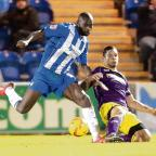 Gazette: On the mend - Jabo Ibehre is said to be on the recovery trail after missing the U's last three games because of injury. Picture: STEVE BRADING (CO87590-40)