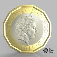 Gazette: The new one pound coin announced by the Government will be the most secure coin in circulation in the world (HM Treasury/PA)