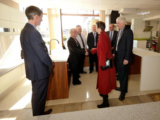 Princess Anne celebrates 175 years of Kent Blaxill