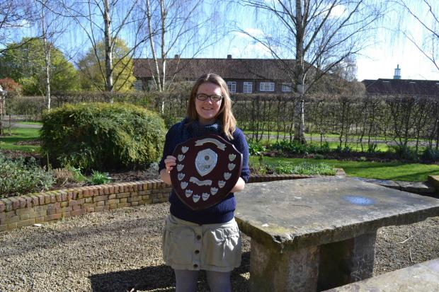 Rose Kippen, from Wivenhoe, will compete to be best young gardener in the country.