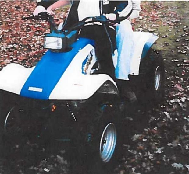 Have you seen this quad bike?