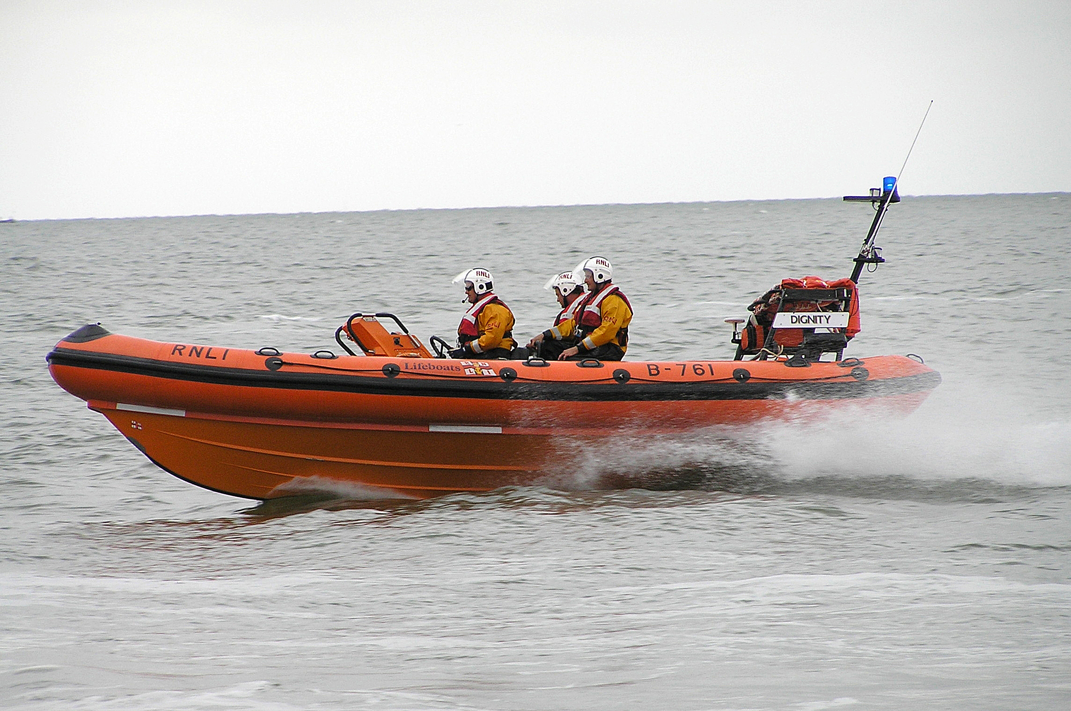 Lifeboat rescues two people near Mersea