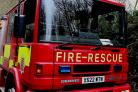 Fire crews called to blaze at art warehouse
