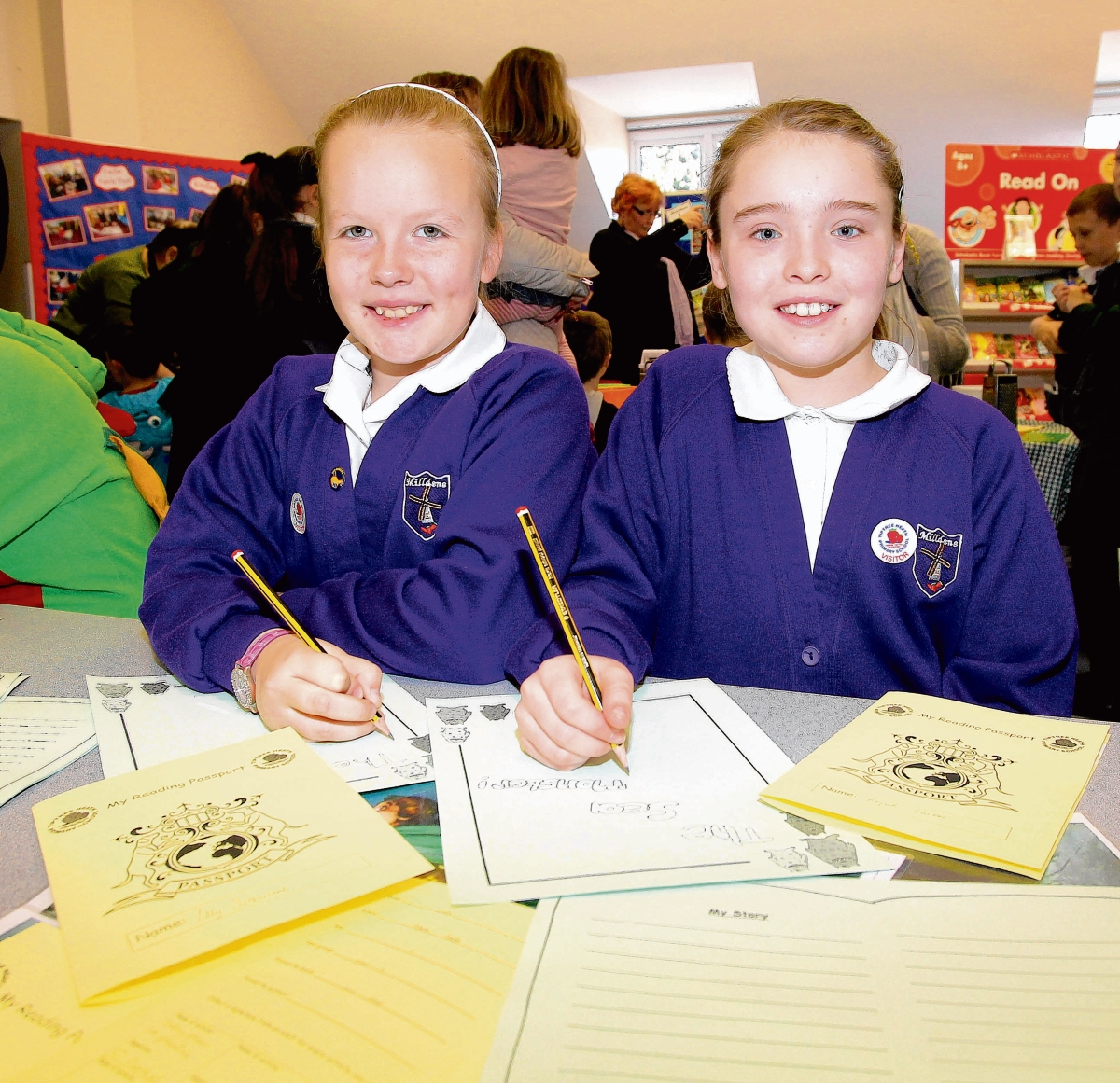 Fun workshops at launch of school reading scheme
