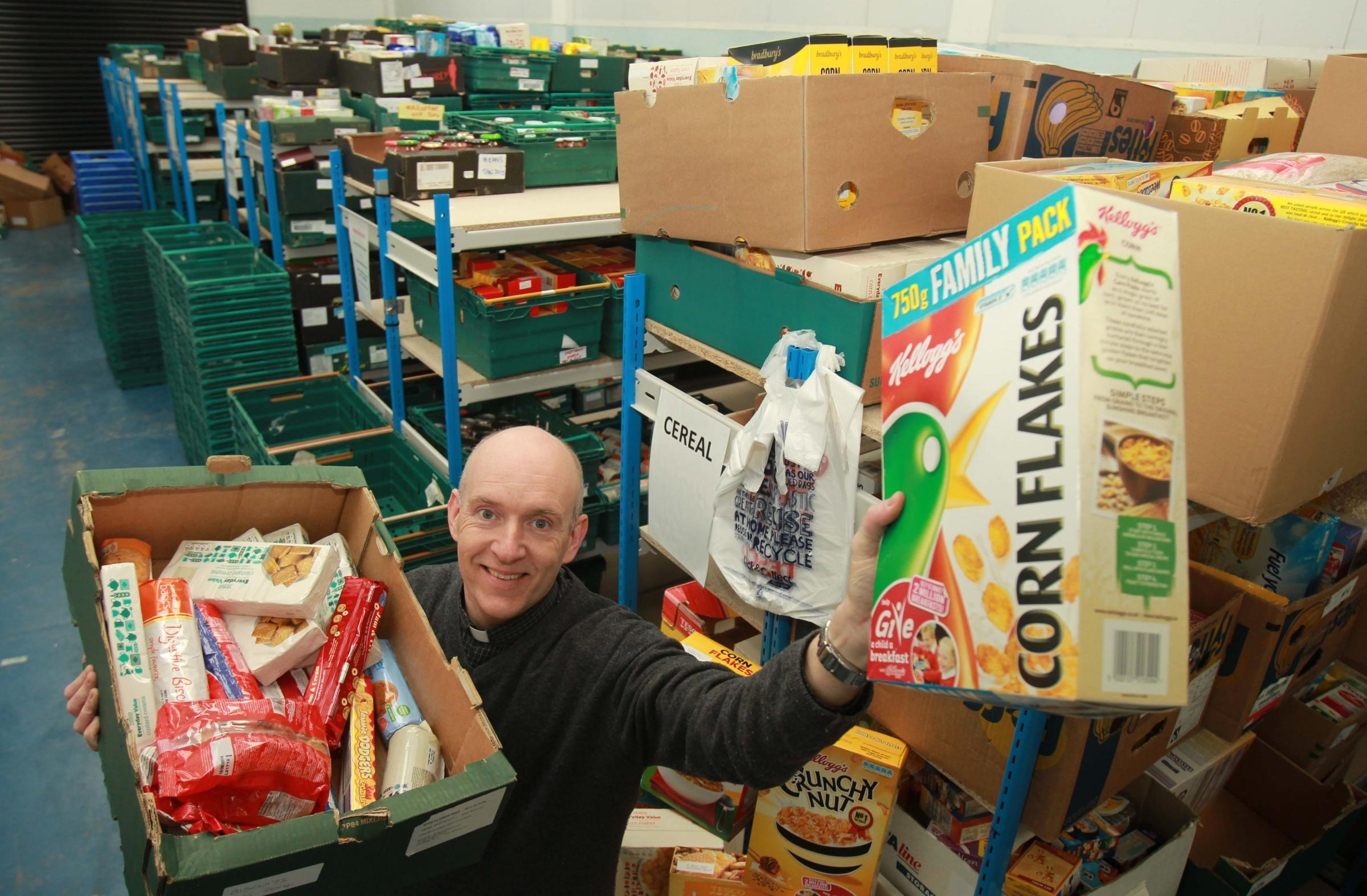 Increasing demand on food banks