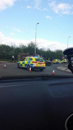Marks Farm lorry crash causes delays
