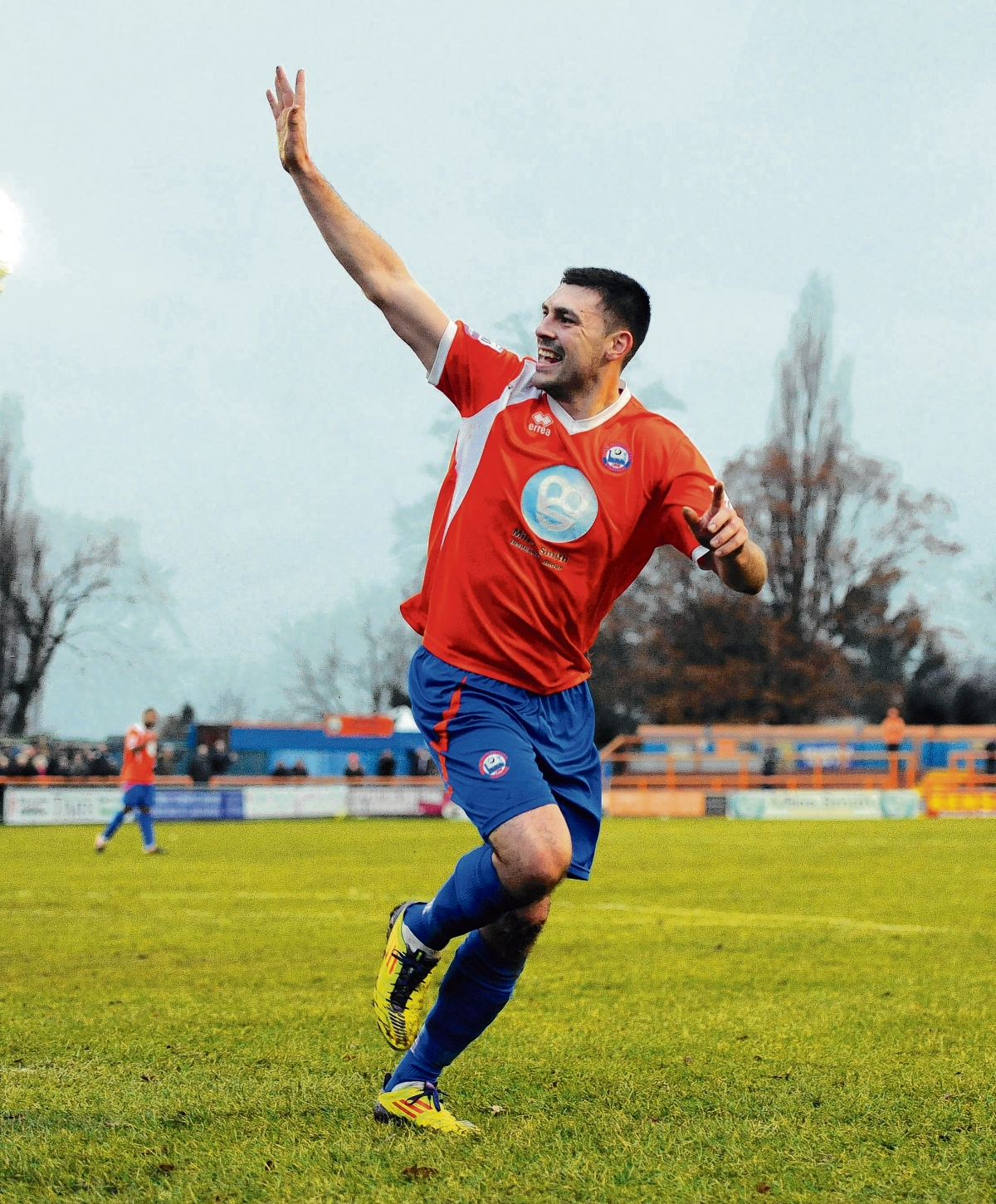 Sean Marks' goal was a consolation for Braintree. Picture: Neil Dady