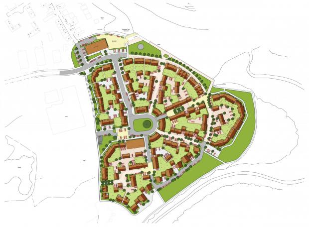 170 homes set for Rowhedge - but no affordable homes included in plans