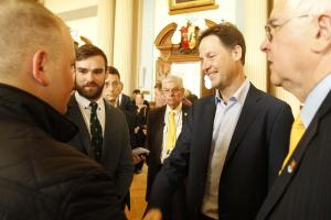 Right, next job lads is to meet Mr Clegg!
